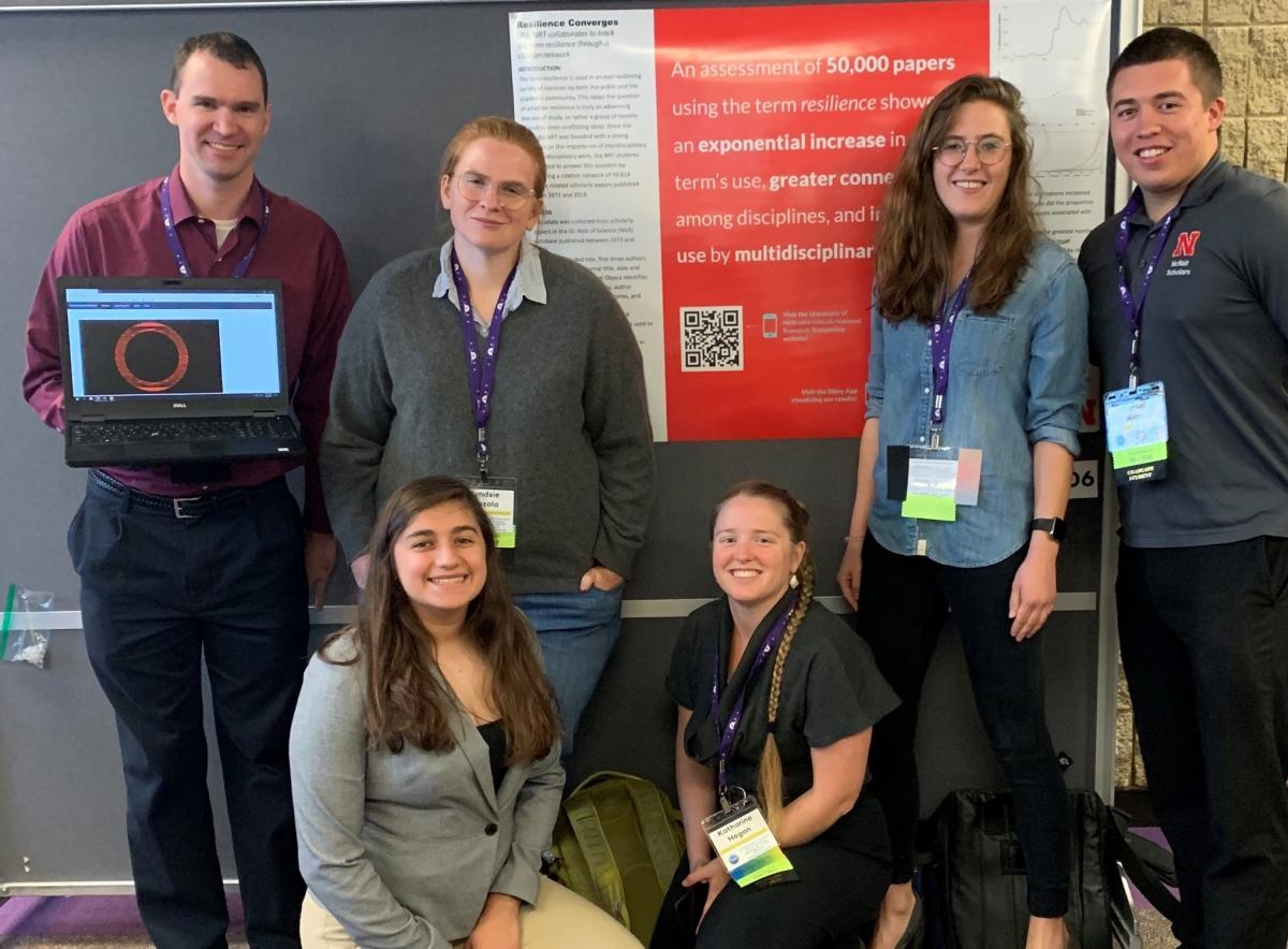 students at 2019 NRT annual meeting