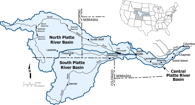 Platte River Basic map